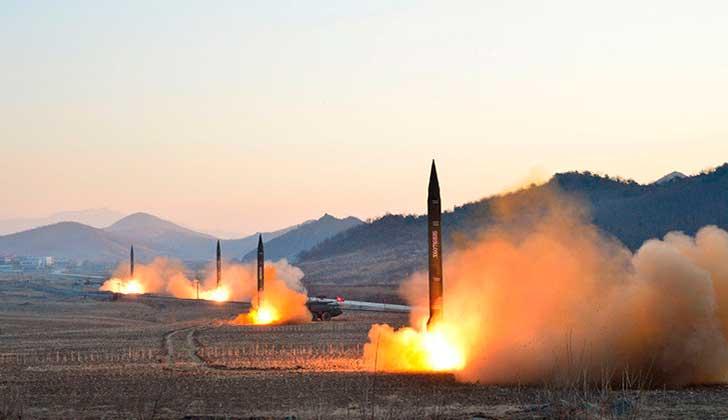 Corea del Norte probó nuevo misil balístico con éxito