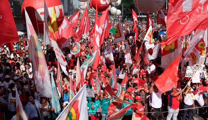 Brasil: Día del Trabajador dio continuidad a la huelga general contra las reformas de Temer.