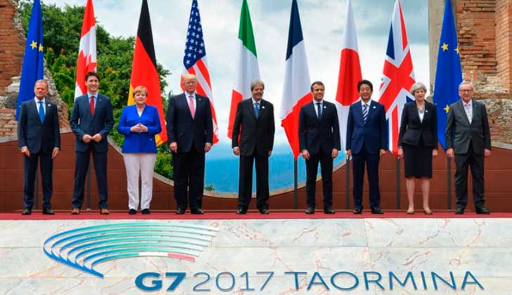 G7 concluye sin acuerdo sobre el cambio climático