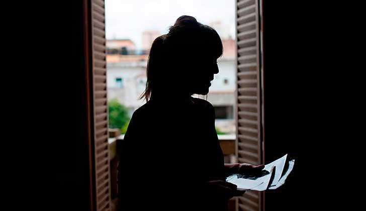 """La hija del represor argentino Miguel Etchecolatz, describió a su padre como """"un ser infame, no un loco"""". Foto: Federico Cosso/ Revista Anfibia"""