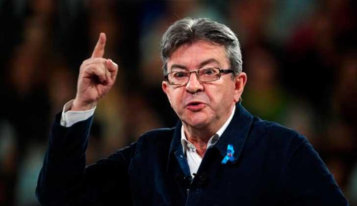 """Mélenchon será candidato en las legislativas para """"combatir"""" a Macron."""