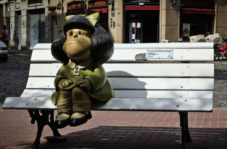 Mafalda hablará guaraní en Paraguay