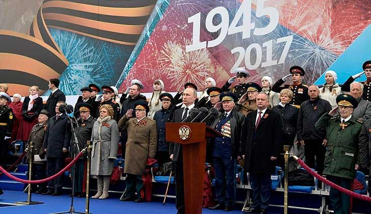 Rusia celebra con gran despliegue el Día de Victoria ante nazismo. Foto: http://en.kremlin.ru