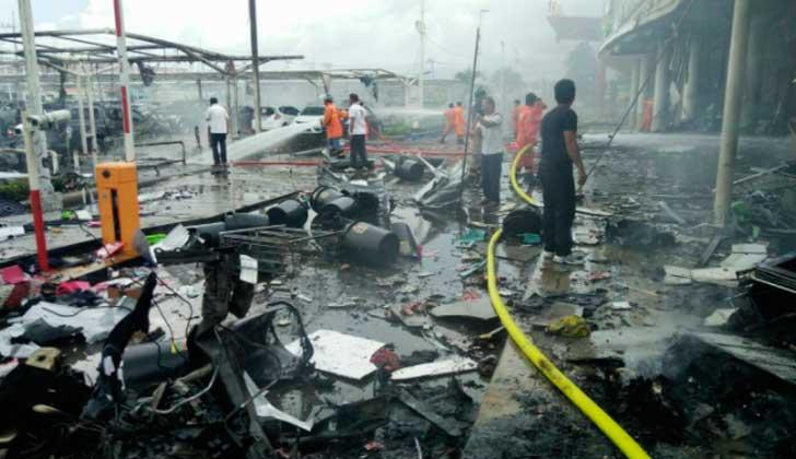Más de 40 heridos por un doble atentado con bomba en Tailandia