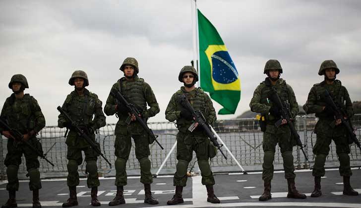 Ante masivas protestas, Temer autorizó la intervención de las Fuerzas Armadas — Brasil