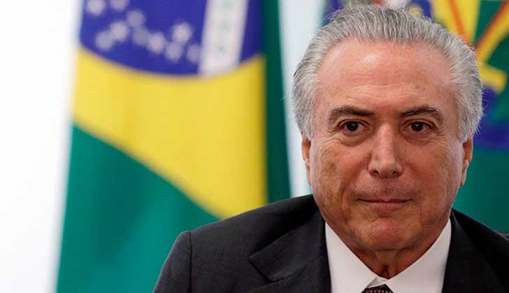 Orden de Abogados de Brasil presentará una acción de 'impeachment' contra Temer.