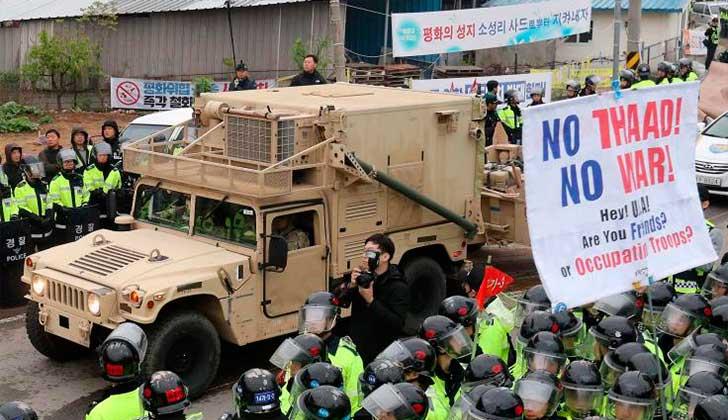 China exige a Seúl y Washington no desplegar el THAAD