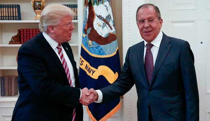 Trump confirma haber dado datos de inteligencia a canciller ruso
