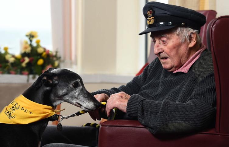 1 lugar en la categoria Perros de Asistencia, Alasdair MacLeod, Reino Unido