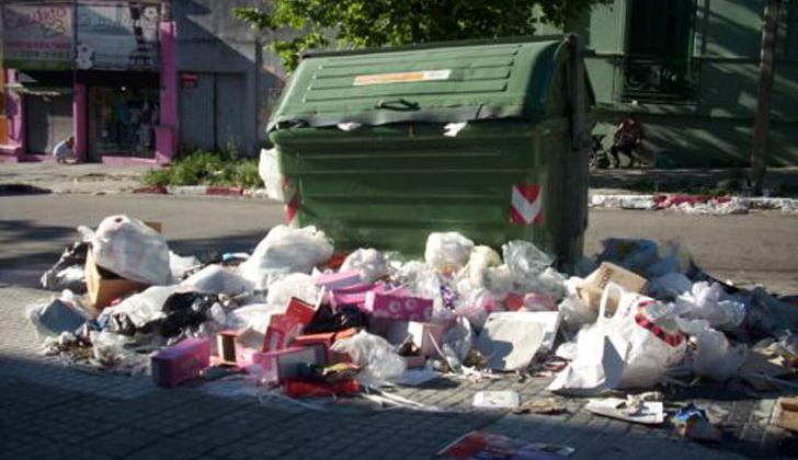 Más de 1000 infracciones por tirar basura de manera ilegal