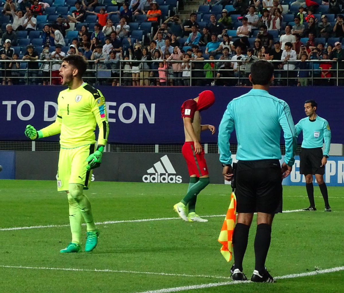 Venezuela y Uruguay se citan en semifinales