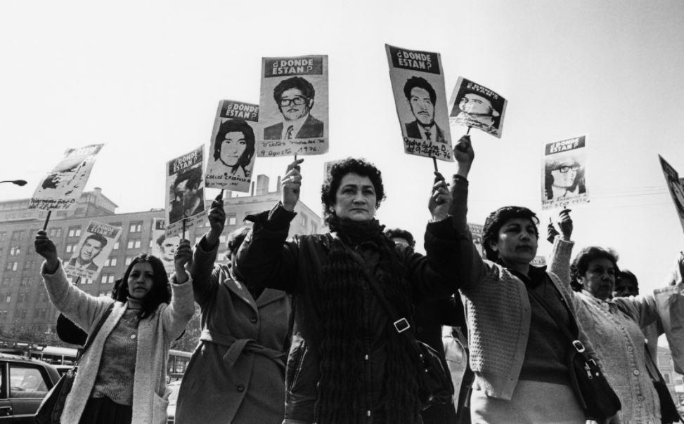 Agrupación de Familiares de Detenidos Desaparecidos de Chile. Foto: Kena Lorenzini