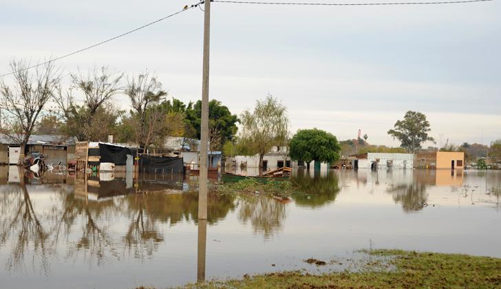 Más de 4.000 desplazados por las inundaciones