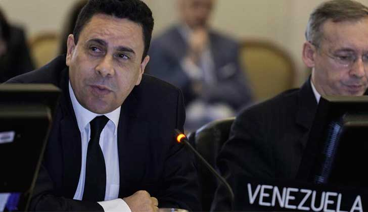 Maduro nombra a Samuel Moncada nuevo canciller de Venezuela