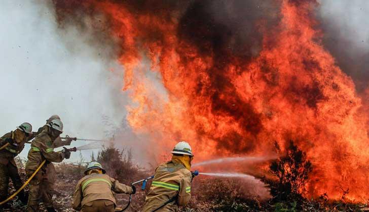 Avión en misión de extinción de incendios se estrelló en Portugal