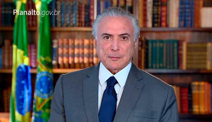 Brasil: Temer dice que las denuncias son
