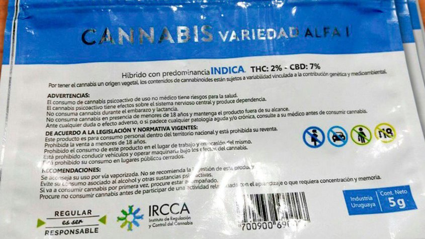 Uruguay: Venta de marihuana en farmacias empezará desde este miércoles