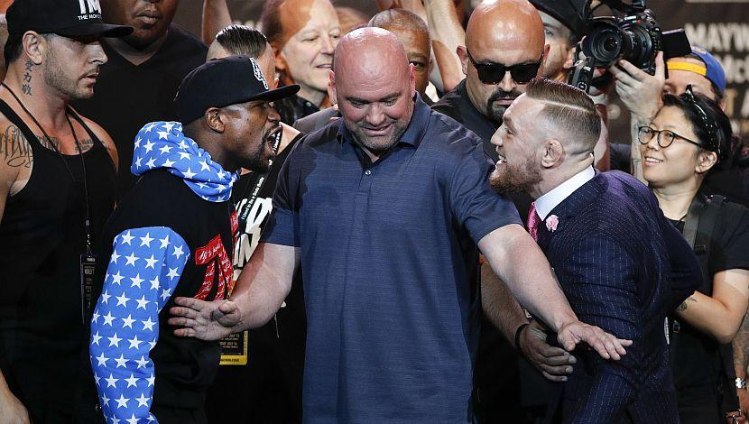 Mayweather vs McGregor EN VIVO: Conferencia en Nueva York
