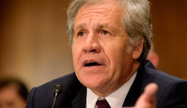 """Almagro ante el Senado de EE.UU. solicitó """"mayor presión económica"""" contra Venezuela. Foto:@Almagro_OEA2015"""