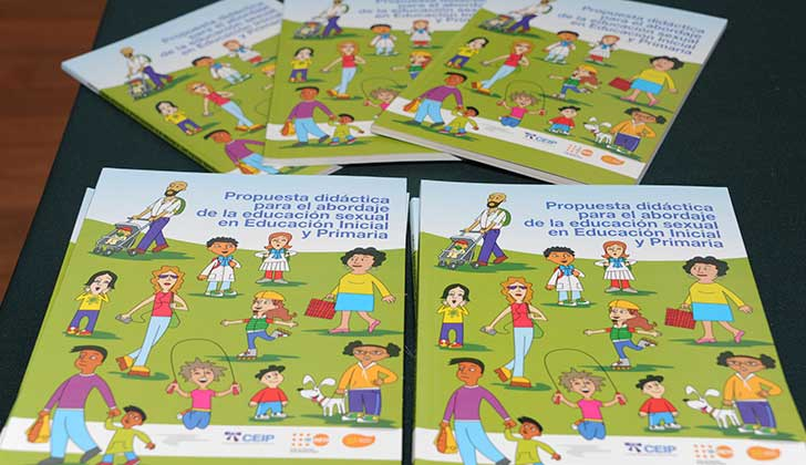 ANEP presentó guía sobre el abordaje de Educación Sexual en Educación Inicial y Primaria. Foto: Presidencia