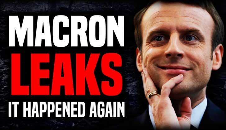 Publican mails de campaña de Macron