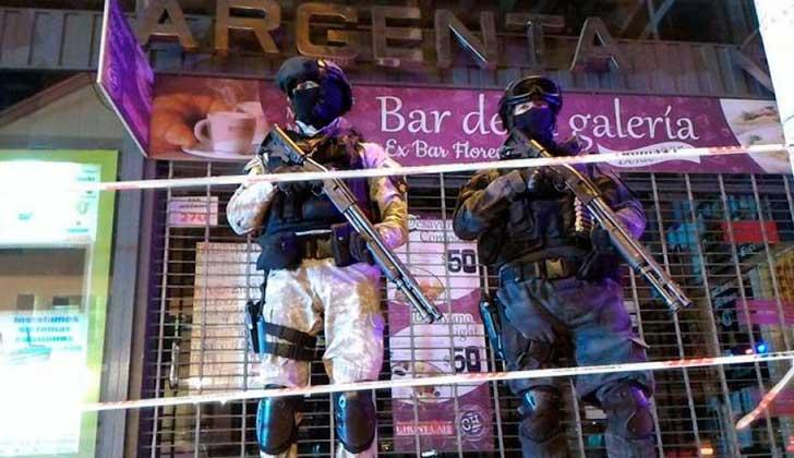 En un megaoperativo allanaron y clausuraron el único local de aceite de cannabis de Argentina. Foto: @FPAcba