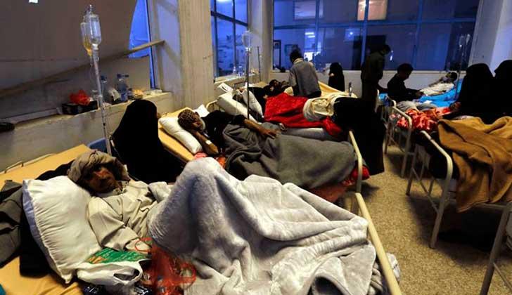 300 mil personas afectadas por cólera en Yemen