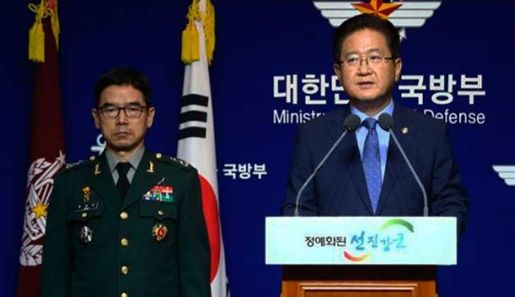 Corea del Sur propone al Gobierno norcoreano una reunión militar para esta semana. Foto: EFE