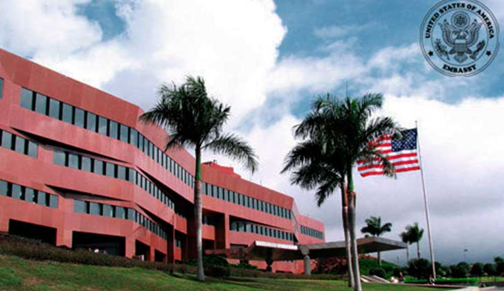 Denuncian planes injerencistas de embajada de EE.UU. en Venezuela