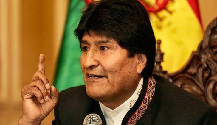 """Evo Morales: """"Intervención de EE.UU a Venezuela será responsabilidad de Almagro""""."""