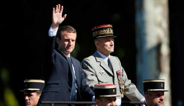 Jefe del Ejército francés renuncia por recortes al presupuesto de Macron