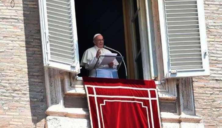 Papa pide moderación y diálogo en Jerusalén