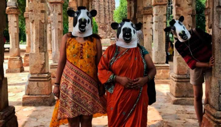 """""""Una vaca vale más que una mujer"""", el proyecto de un fotógrafo de la India ."""