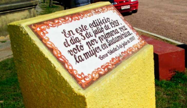 Se cumplen 90 años del primer voto de la mujer en Sudamérica