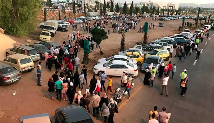 Cuatro muertos en ataque con misiles de terroristas en Damasco