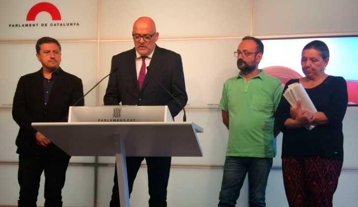 Separatistas catalanes activarán ley para independencia antes de referéndum