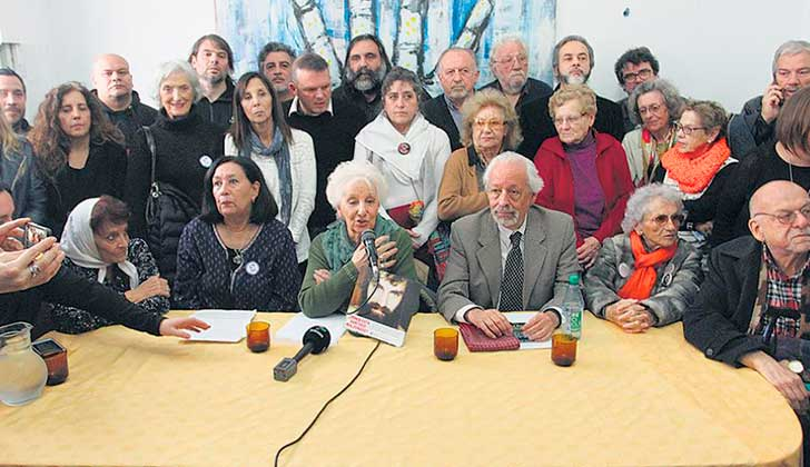 Miles pidieron en Plaza de Mayo por la aparición de Santiago Maldonado