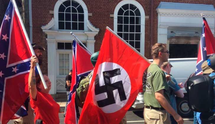 Ministro israelí insta a EE.UU. a condenar uso de símbolos nazi. Foto: @naftalibennett