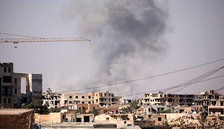 Al menos 78 civiles murieron tras un ataque de la coalición internacional en Siria. Foto: © REUTERS/ Rodi Said