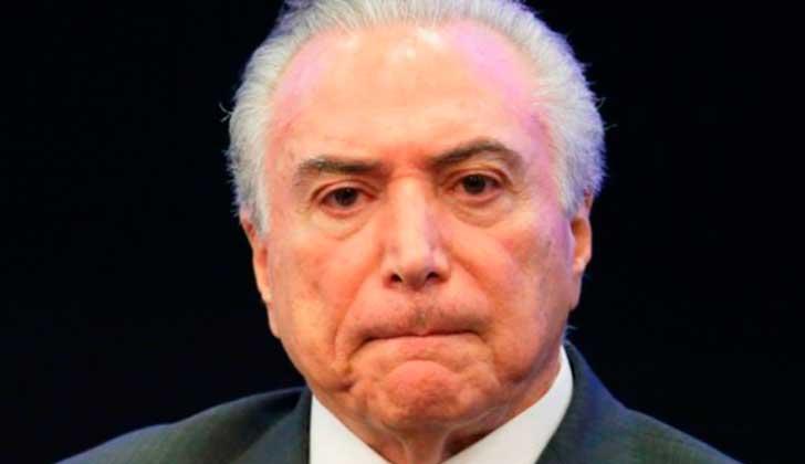 Orden de Abogados de Brasil exige respuesta a los pedidos de juicio político contra Temer.