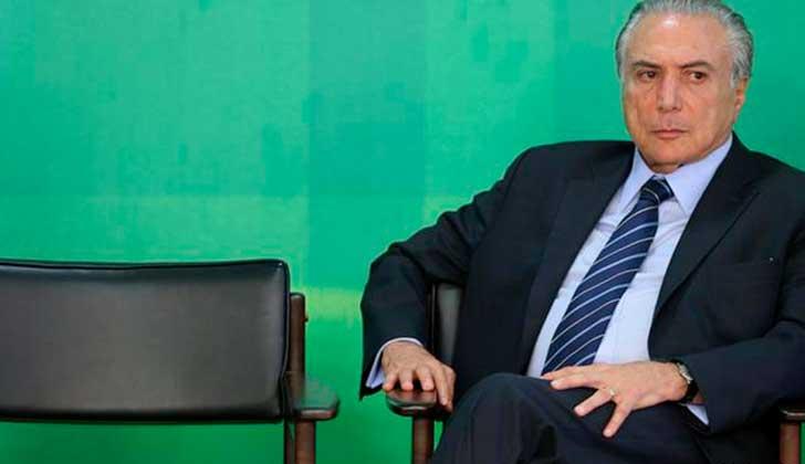 El Congreso salva a Temer y rechaza su juicio por corrupción — Brasil