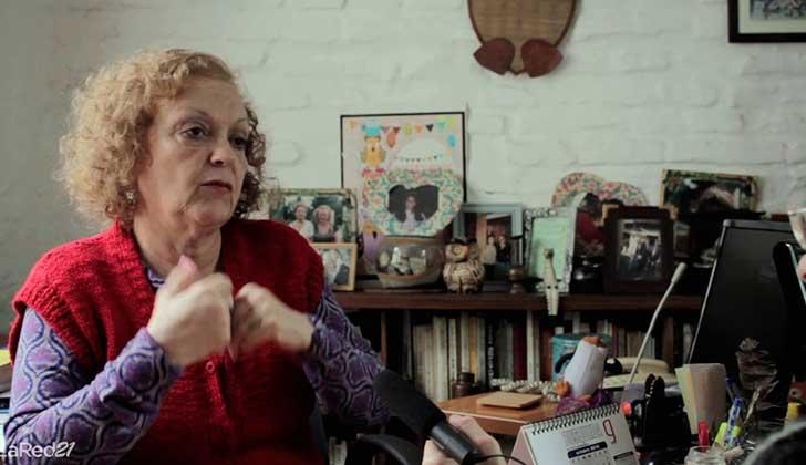 """Teresa Herrera: """"Aprobar el agravante del femicido y no aprobar la ley integral es tratar de tapar el sol con la mano"""". Foto: archivo LARED21"""