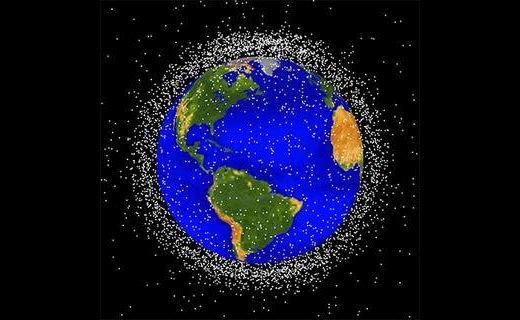 La mayoría de la basura espacial se encuentra en la trayectoria de la ISS. Foto: NASA