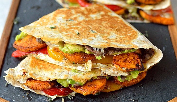 Loaded-veggie-quesadillas