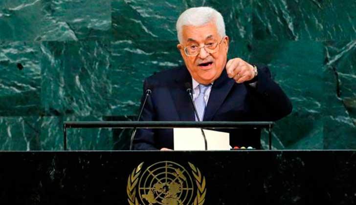 Abas pide terminar con el 'apartheid' en Palestina