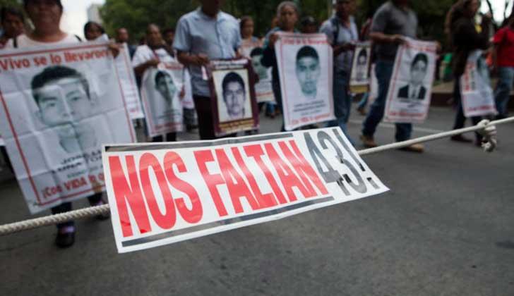 Se cumplen tres años de la desaparición de los 43 normalistas de Ayotzinapa.