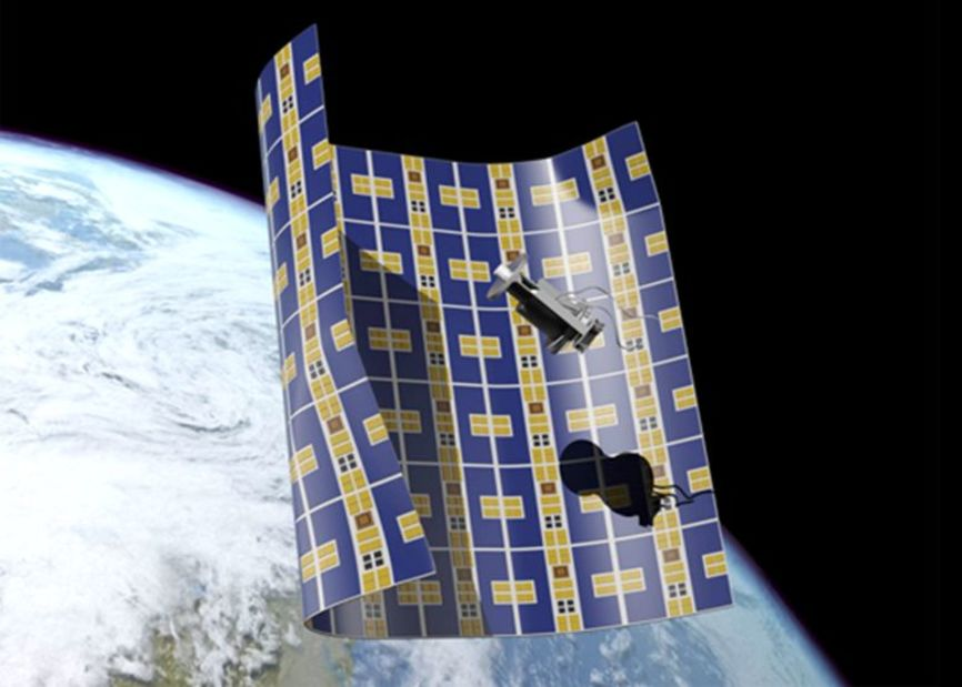 Dispositivo Brane Craft. Foto: NASA