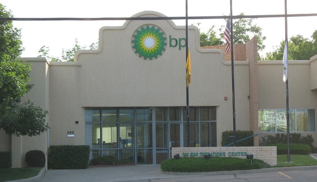 Centro de operaciones de British Petroleum en Farmington, New Mexico. Foto: flickr.com/teofilo