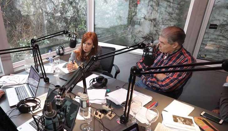 """CFK tras las pericias de Gendarmeria sobre la muerte de Nisman:""""Es una bomba de humo para ocultar a Santiago Maldonado""""."""
