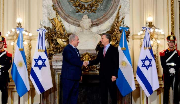 Macri se reunió con Netanyahu en Argentina. Foto: @MauricioMacri